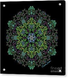 Spring Spiral Acrylic Print