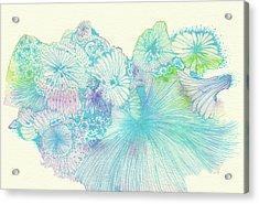 Spring - #ss18dw008 Acrylic Print by Satomi Sugimoto