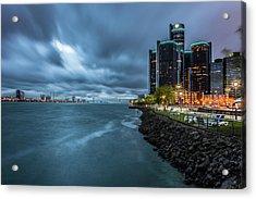 Storm Season In Detroit  Acrylic Print