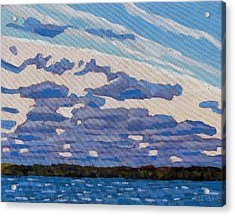 Spring Stratocumulus Acrylic Print by Phil Chadwick