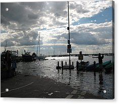 Spring Tide Acrylic Print by Angelina Whittaker Cook