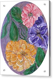 Spring Time Acrylic Print by Mikki Alhart