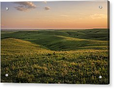 Spring Time On The Prairie Acrylic Print by Scott Bean