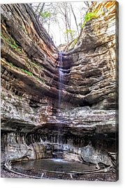 Acrylic Print featuring the painting Spring Trickling In by Darren Robinson