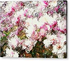 Spring Tulip Tree Acrylic Print