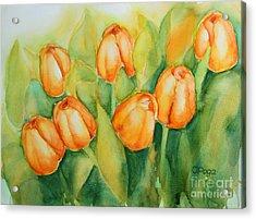 Spring Tulips 1 Acrylic Print