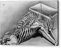 Spring Water Acrylic Print by John Clum