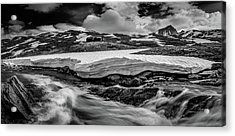 Acrylic Print featuring the photograph Spring Waters by Dmytro Korol