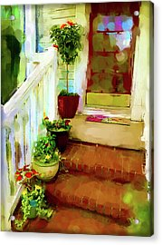 Spring Welcome Acrylic Print