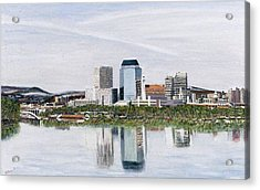 Springfield Reflections Acrylic Print by Richard Nowak