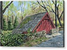 Springhouse At Cuttalossa Acrylic Print