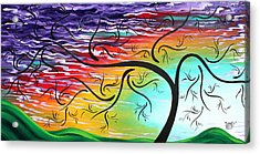 Springs Song By Madart Acrylic Print by Megan Duncanson