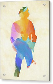 Springsteen From Behind Acrylic Print