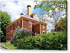 Springtime At Folsom Tavern Acrylic Print