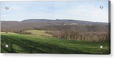 springtime at Kentuck Knob Acrylic Print