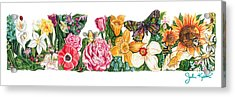 Springtime Flowers Acrylic Print by John Keaton