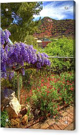 Springtime In Old Bisbee Arizona Acrylic Print