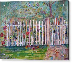 Springtime In Virginia Acrylic Print by Marlene Robbins
