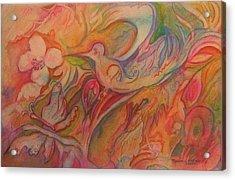 Springtime Acrylic Print by Marlene Robbins