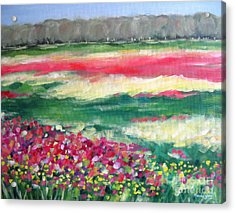 Springtime Memories Acrylic Print by Marsha Young
