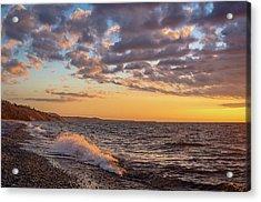 Springtime On Agate Beach Acrylic Print
