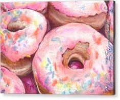 Sprinkles Acrylic Print by Melissa J Szymanski