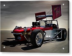 Sprint Car Acrylic Print by Douglas Pittman