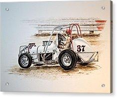 Sprint N Dirt Acrylic Print