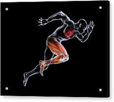 Sprinter, Artwork Acrylic Print