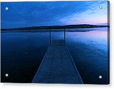 Springbrook Lake At Dawn Acrylic Print