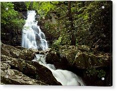 Spruce Flat Falls Acrylic Print by Amanda Kiplinger