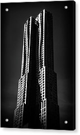 Acrylic Print featuring the photograph Spruce Street By Gehry by Jessica Jenney