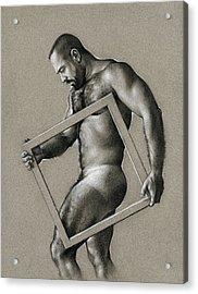 Square Acrylic Print by Chris Lopez