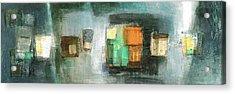 Square91.5 Acrylic Print by Behzad Sohrabi