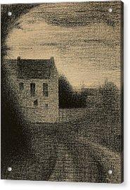 Square House Acrylic Print