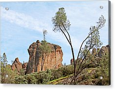 Acrylic Print featuring the photograph Square Rock Formation by Art Block Collections