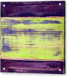 Acrylic Print featuring the painting Art Print Square5 by Harry Gruenert