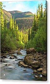 Squaw Creek, Colorado #2 Acrylic Print