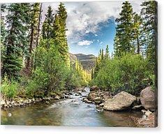 Squaw Creek, Colorado Acrylic Print