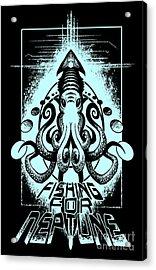 Squid Acrylic Print by Tony Koehl