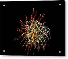 Squiggles 02 Acrylic Print by Pamela Critchlow