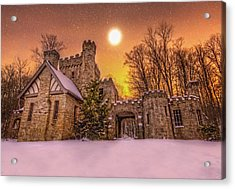 Squires Castle In The Winter Acrylic Print