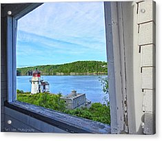 Squirrel Point View From The Deck Acrylic Print