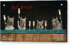 Squirrel's Night Out... Acrylic Print