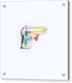 Squirt Gun Acrylic Print