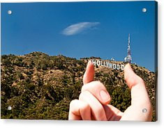 Squish - Beachwood Canyon Acrylic Print