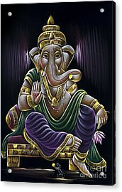 Sri Ganapati Acrylic Print by Tim Gainey
