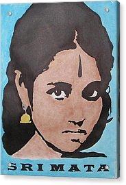 Sri Mata Acrylic Print by Kenneth Regan