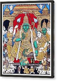 Sri Ramar Pattabhishekam Acrylic Print