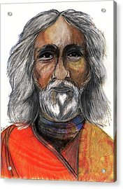 Sri Yukteswar Giri Acrylic Print